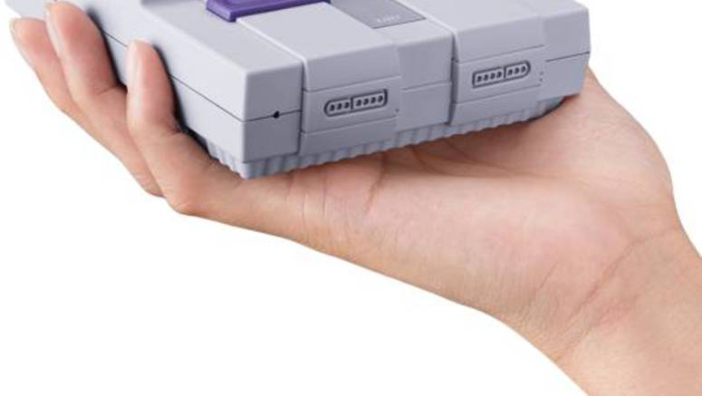 Nintendo Exec Warns Against Paying A Premium For The SNES Classic