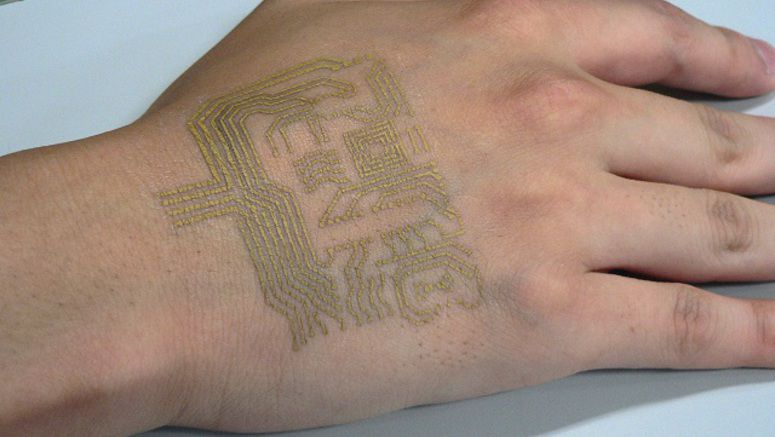 Japanese Researchers Develop Breathable On-skin Biosensor (1)