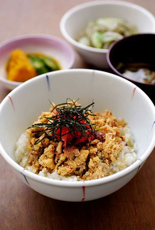 Eel-and-egg rice bowl adds class to Tanita's staff restaurant