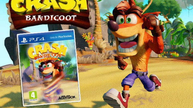 Keymailer Lists Crash Bandicoot For The Nintendo Switch