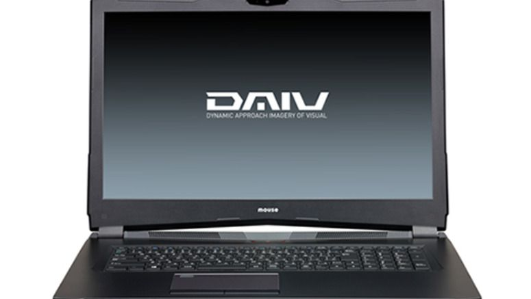 Mouse Computer DAIV-NG7500H1-M2SH5 17.3-Inch 4K-UHD Notebook Released