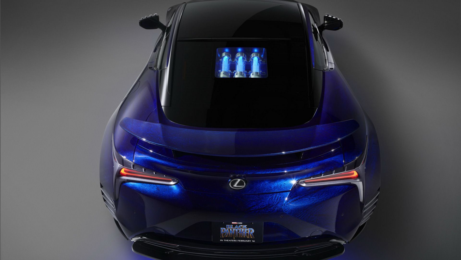 ... Lexus And Marvel Create Black Panther Inspired LC Concepts ...