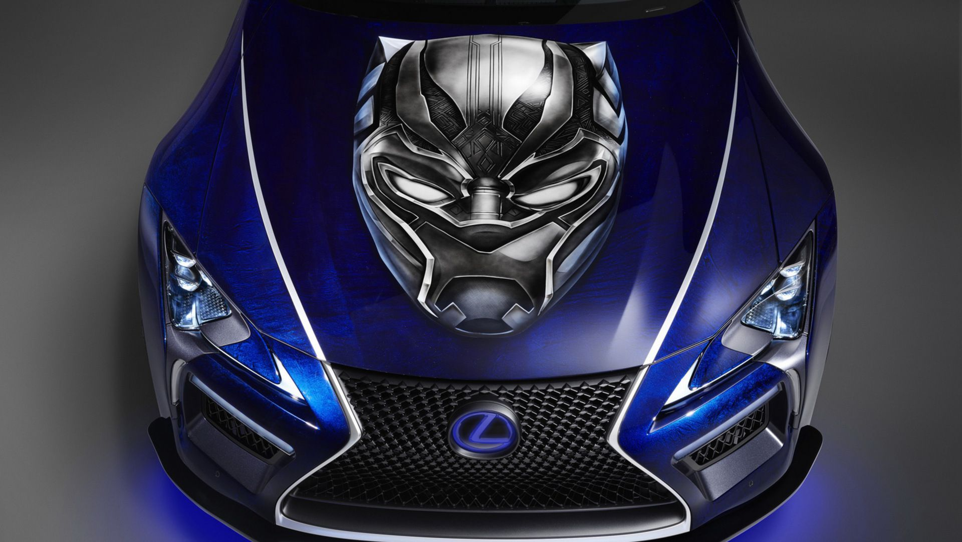 Lexus And Marvel Create Black Panther Inspired LC Concepts ...