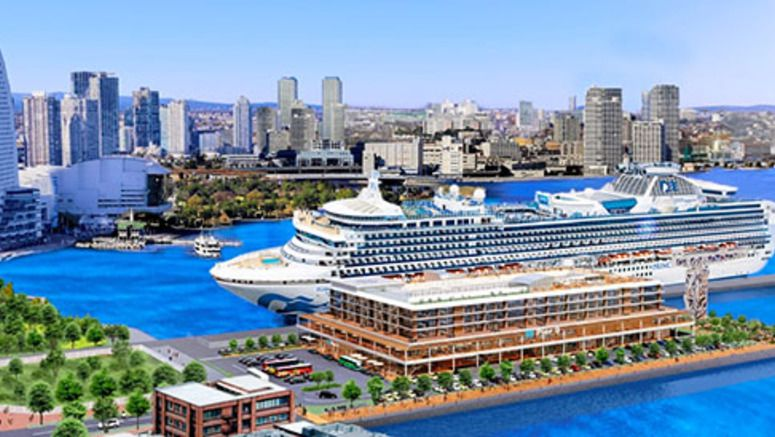 Hotel, shops will share new cruise ship terminal in Yokohama