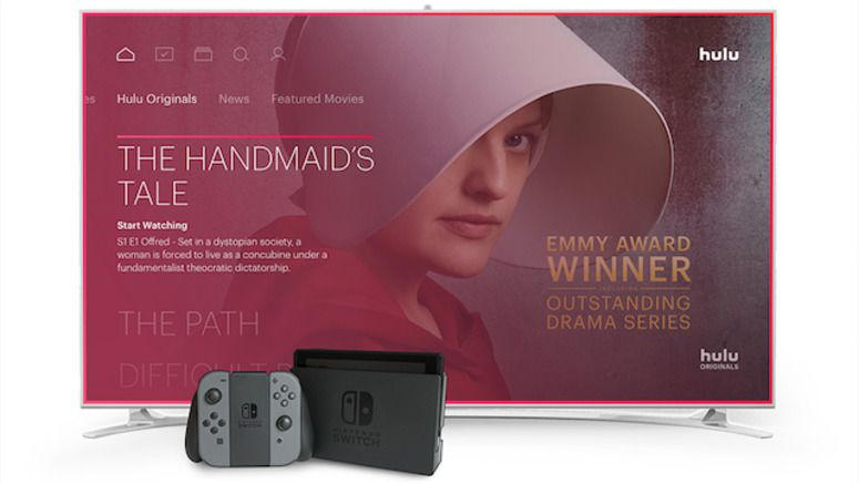Hulu Becomes The First Major Streaming Service For Nintendo Switch