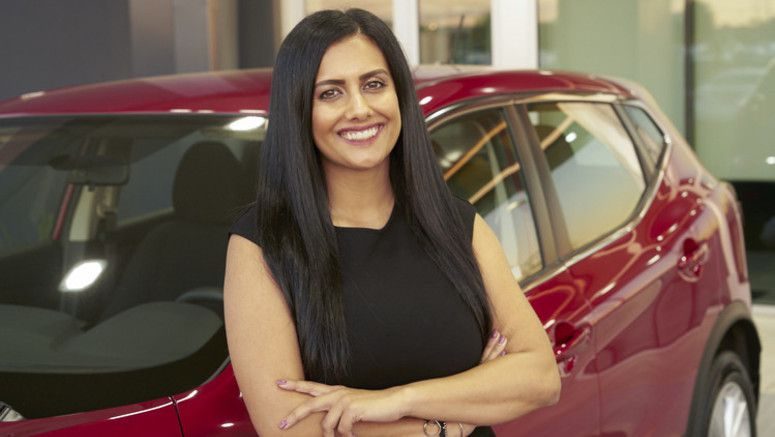Nothing can stop 31-year-old sales manager Nakita Joshi: She is a driving force behind Nissan's top dealership with Hispanic buyers