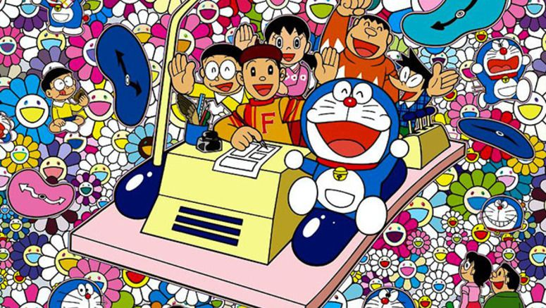 A special take on Doraemon for exhibition being held until 2018