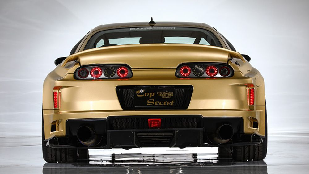 ... Top Secretu0027s V12 Swapped, 222 Mph Toyota Supra Up For Auction