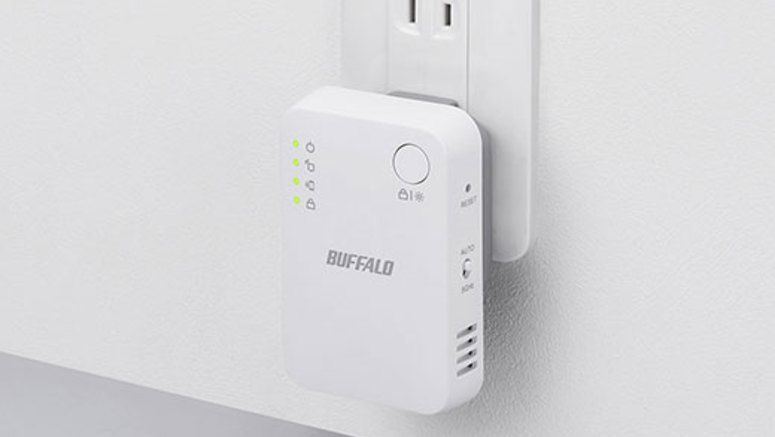 Buffalo WEX-1166DHPS Wireless LAN Repeater Unveiled