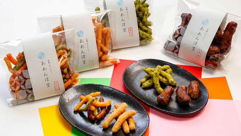 KYOTO GOES KAWAII: Amenbodo adds modern twists to traditional 'karinto' snack