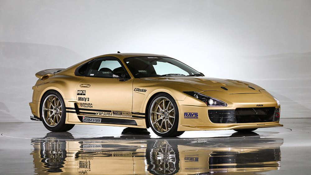 Top Secretu0027s V12 Swapped, 222 Mph Toyota Supra Up For Auction ...