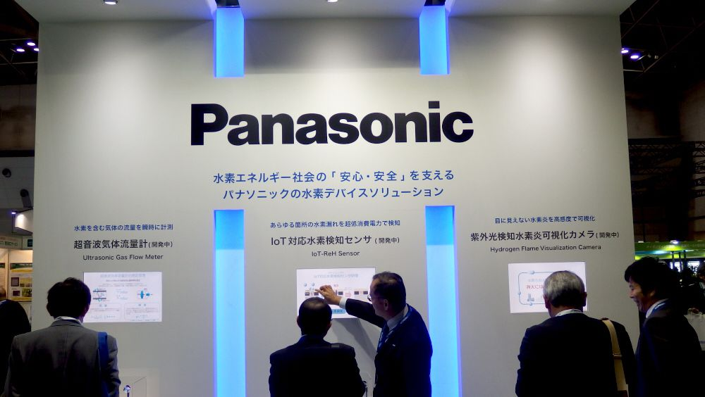 Panasonic Announces 3 Kinds of Sensors for 'Hydrogen Society