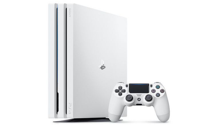 Sony Now Selling Glacier White PS4 Pro Without Bundle