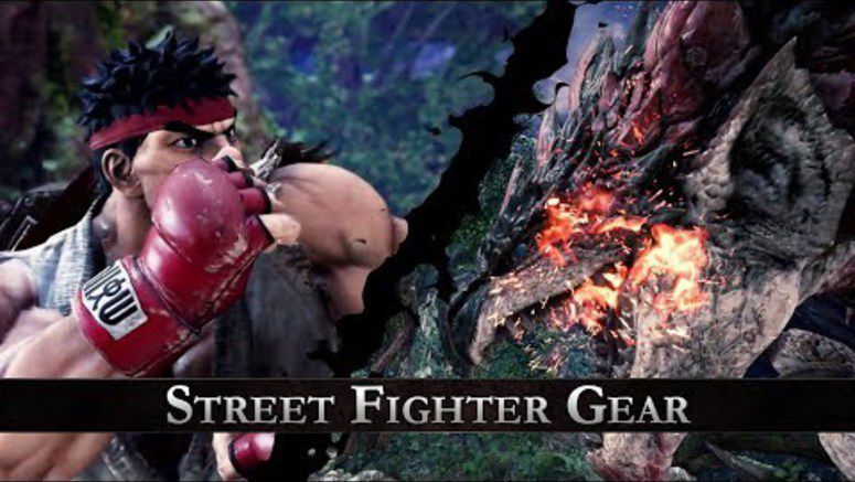 Capcom announced that Monster Hunter-themed costumes would be coming to Street Fighter