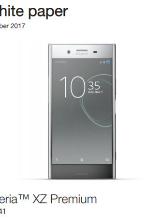 Sony Mobile no longer publishes Xperia White Papers