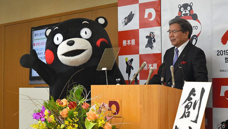 Kumamoto Prefecture lifts the ban on overseas use of the Kumamon mascot design