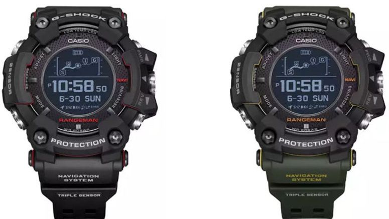 casio announces new g shock rangeman with world 39 s first. Black Bedroom Furniture Sets. Home Design Ideas