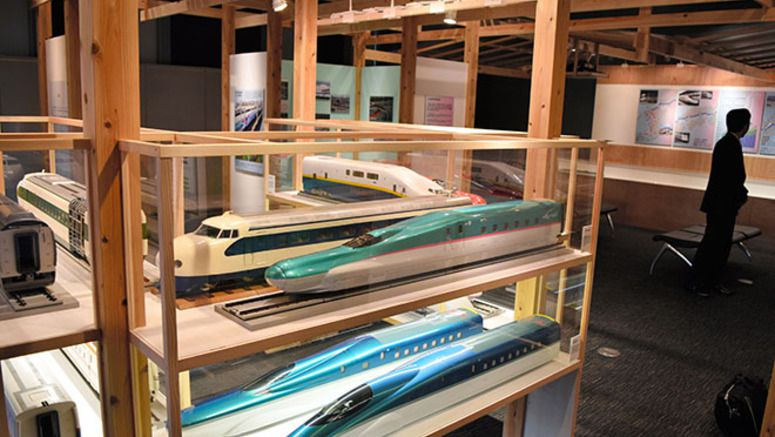 Rail museum hosts exhibition on evolution of the Shinkansen