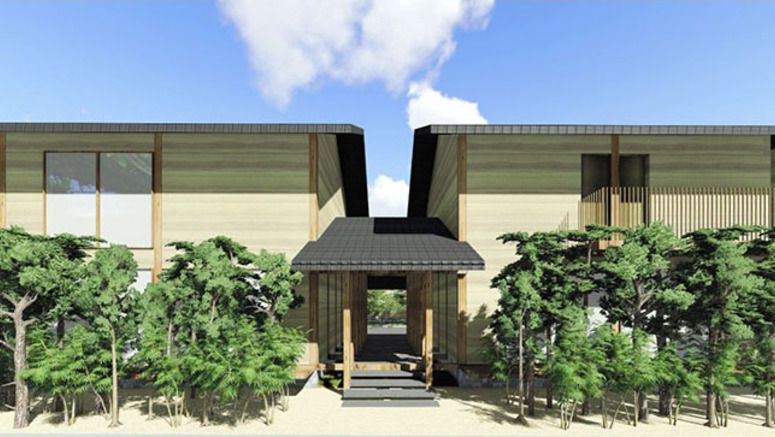 Hotel fit for a monk to open beside Nara's Horyuji temple