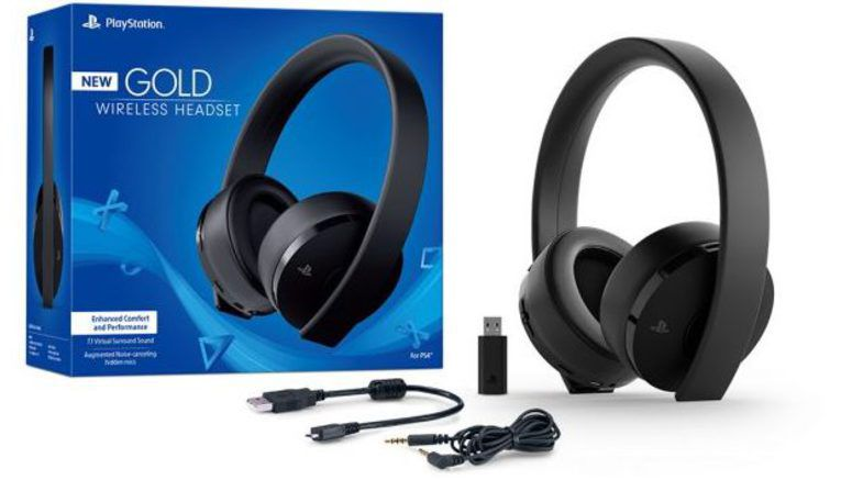 Sony Unveils New Gold Wireless Headset Coming Later This Month