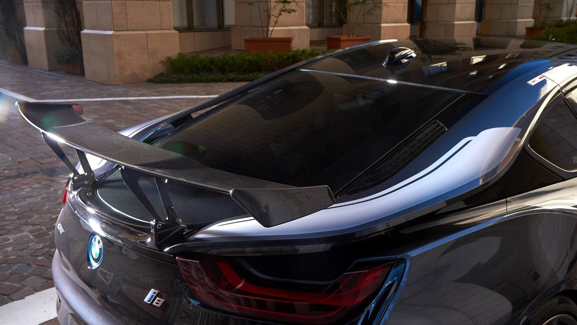 Japan S 3d Design Gives Bmw I8 A Racier Makeover Auto Moto Japan