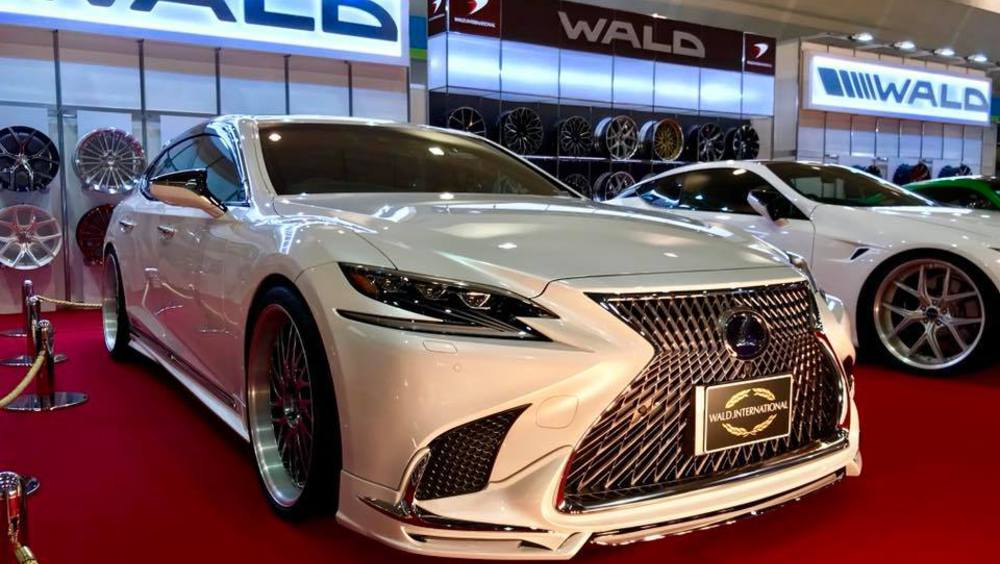 Wald Japanese Things Lexus Lc 500 Coupe And Ls 500h Sedan Auto