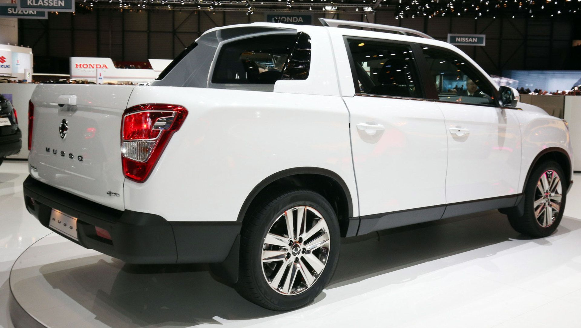 2019 SsangYong Musso Wants To Be Europe's Honda Ridgeline ...