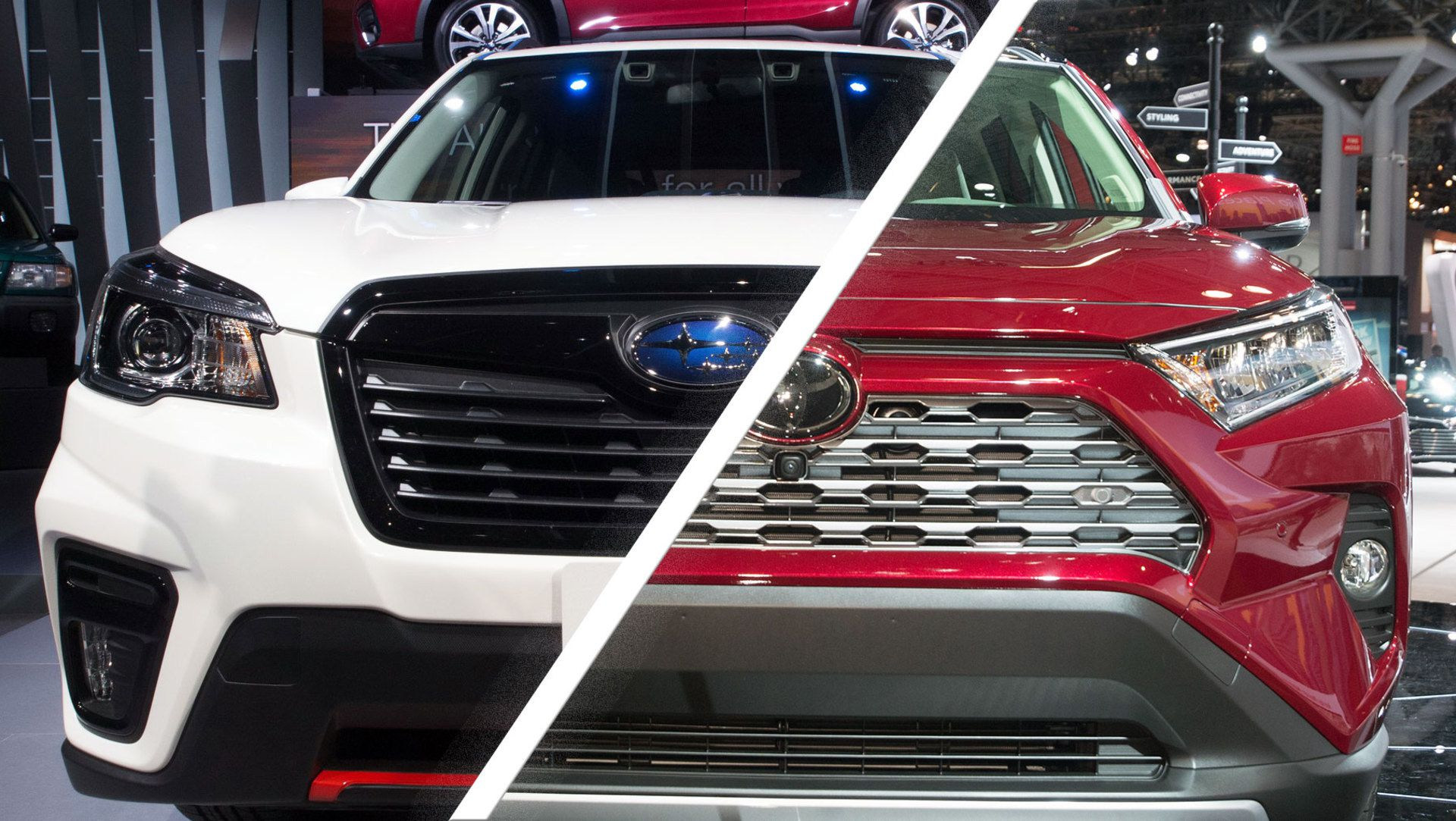2019 Toyota Rav4 Vs Subaru Forester What Rugged Suv Would You