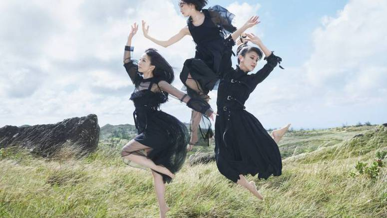 Perfume goes to Guam to shoot PV for 'Mugen Mirai'