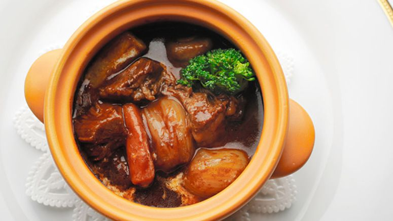 Turn the heat up and beat the cold with a rich black beef stew