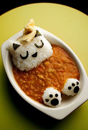 'Cat in a bath' curry and rice spices up pupils with allergies