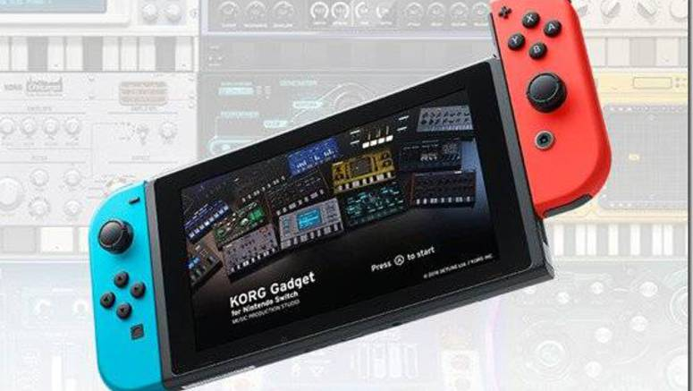 KORG Gadget Will Launch For Nintendo Switch Next Week
