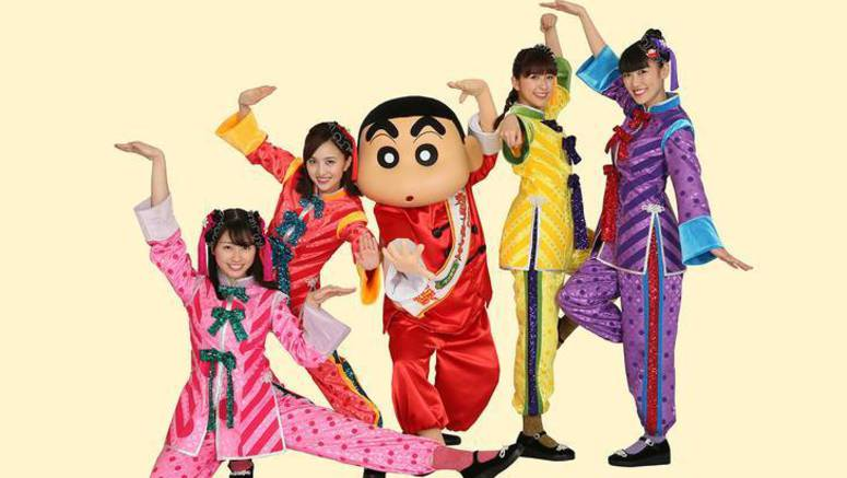 Check out the PV for Momoiro Clover Z's song 'Xiao Yi Xiao'