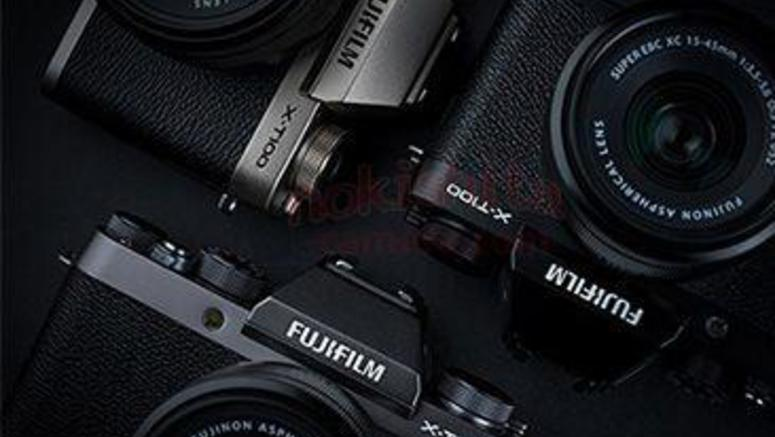 First Alleged Image Of The Fujifilm X-T100 Leaked