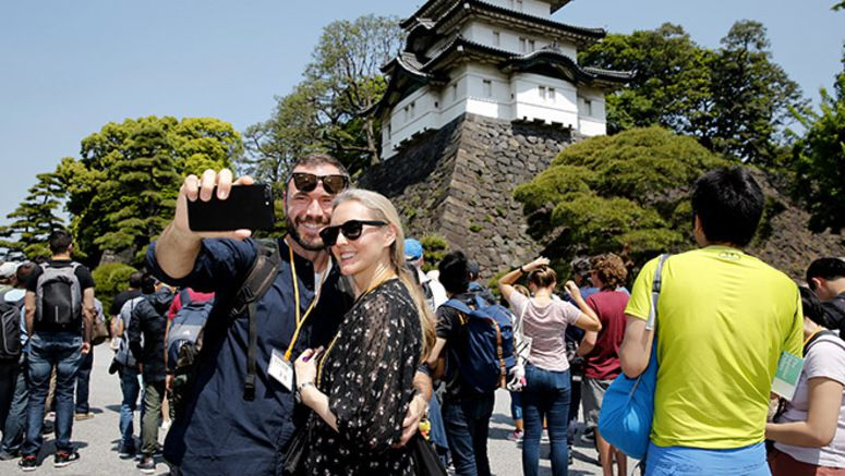 Agency offers guided tours in English of the Imperial Palace