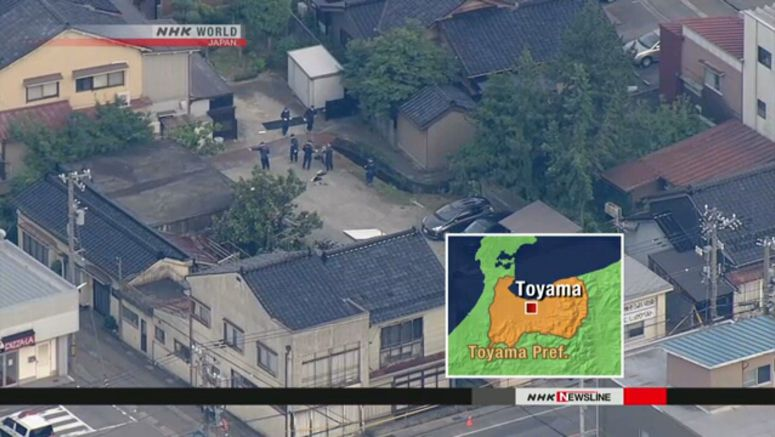 Police suspect Toyama attacker aimed to steal gun