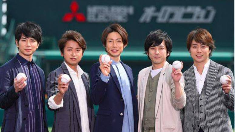 Check out the special footage for Arashi's 'Natsu Hayate'