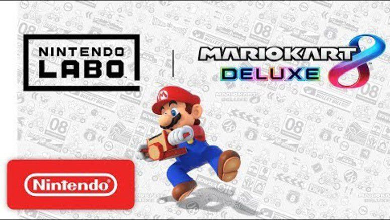 Mario Kart 8 Deluxe Updated With Nintendo Labo Support