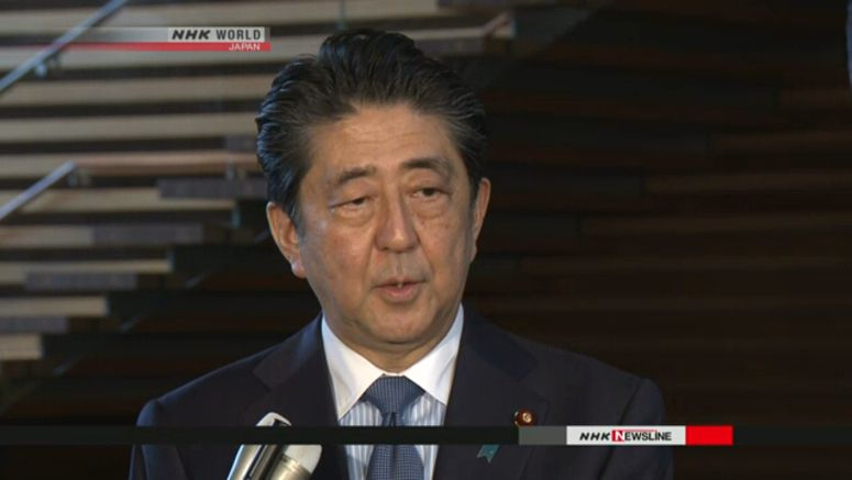 Abe plannning to visit Europe, Middle East in July