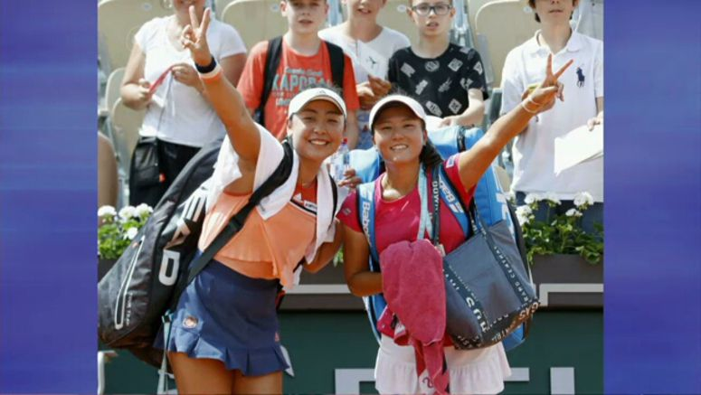 Japanese players advancing at French Open