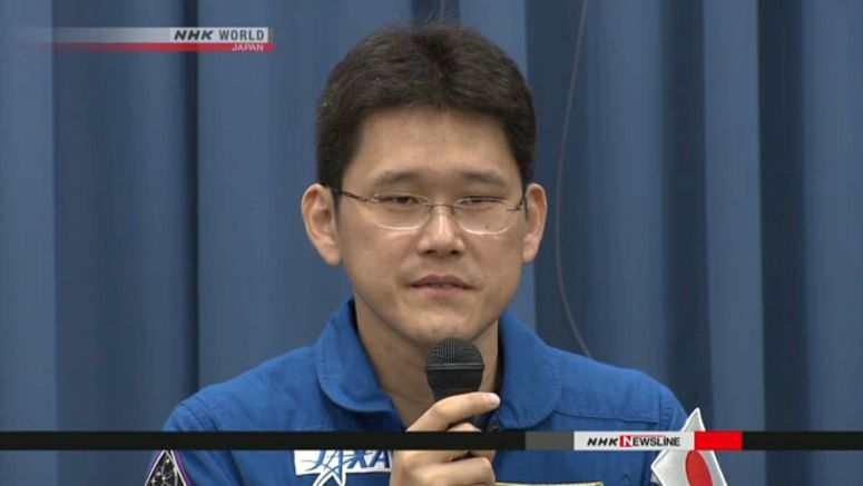 Kanai to return to earth from space station