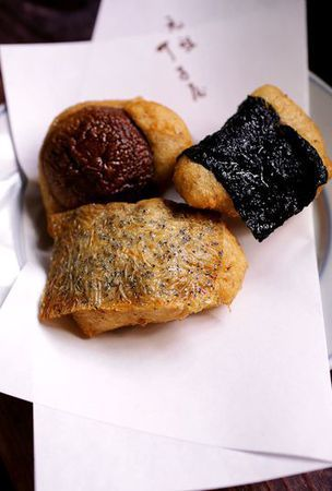'Age toro' deep-fried grated yam, a tasty treat for all ages