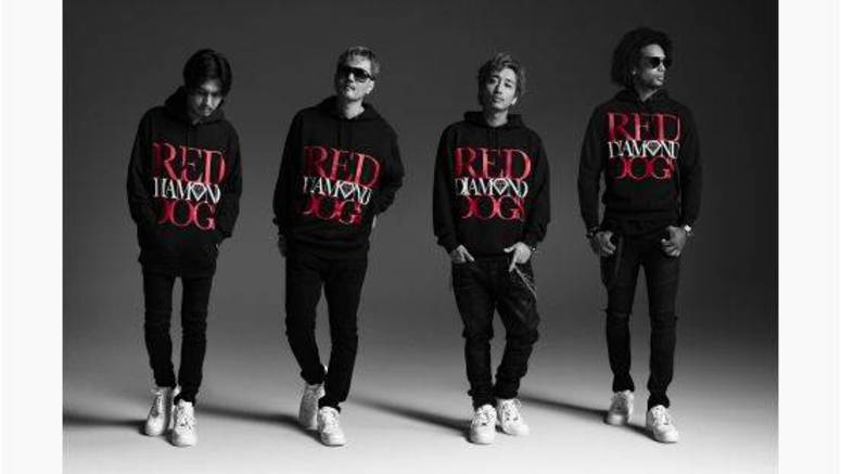 Check out the PV for RED DIAMOND DOGS' new song 'RED SOUL BLUE DRAGON'