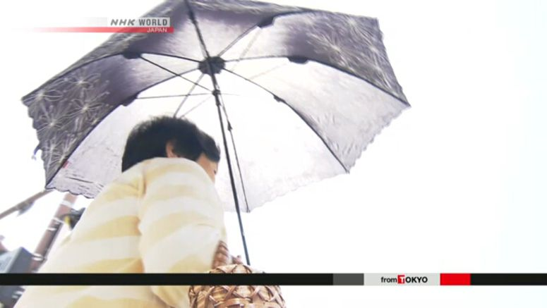 Severe heat wave continues to grip Japan