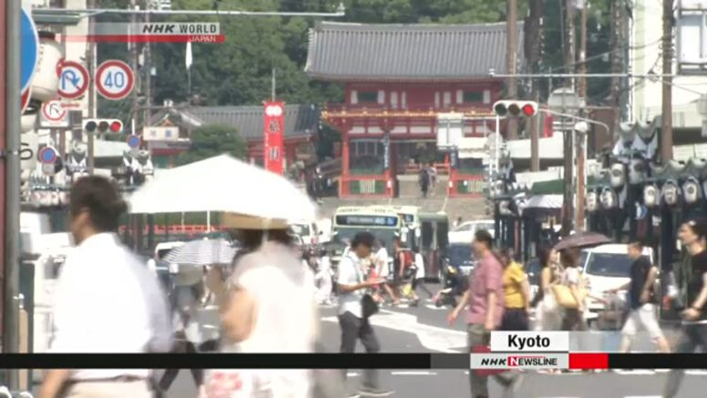Caution urged against heatstroke in Japan