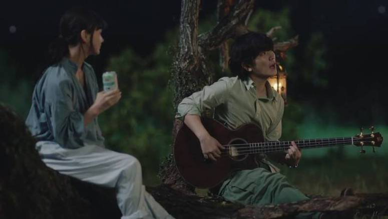 SEKAI NO OWARI's Fukase sings 'Starlight Parade' in new Kirin Green Label CM