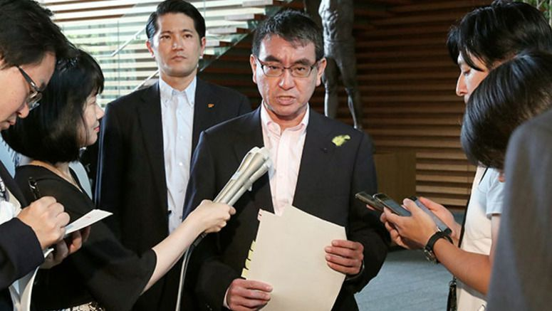 Kono to tell U.S. that Japan is willing to help denuke N. Korea