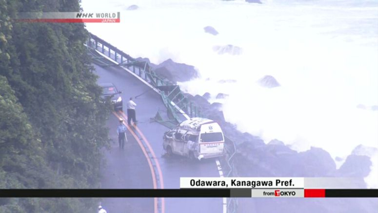Jongdari injures 24 across Japan
