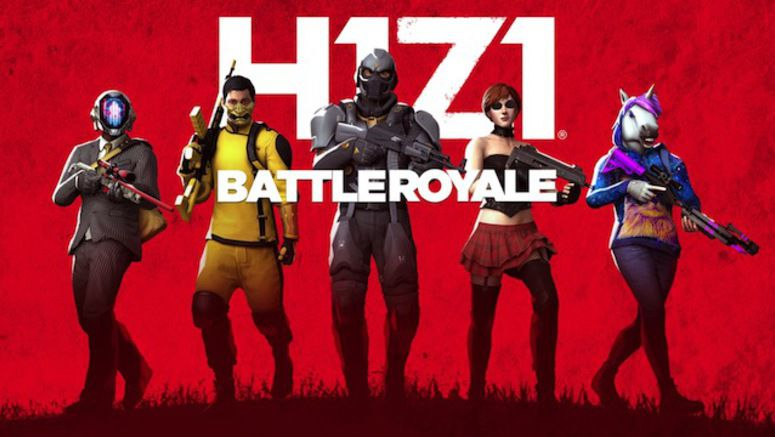 H1Z1 Battle Royale Shooter Released On PlayStation 4