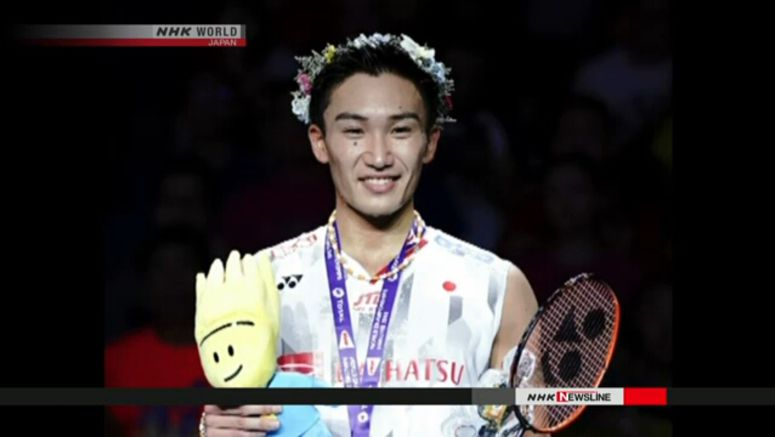 Japan wins 2 badminton titles